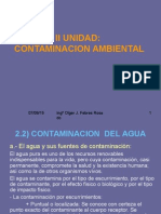 2.2) Contaminacion Del Agua Final