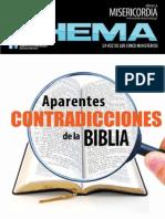07 Julio 2015 - Aparentes Contradicciones de La Biblia
