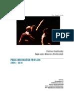 Portfolio Projects - PRESS Reviews - C.osatinsky F.N.pelliccioli