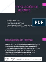 Interpol Ac i on Hermite