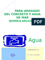 AGUA PARA  COCRETO Y AGUA DE MAR 13-I.pptx