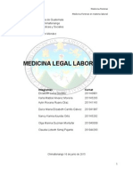 Trabajo Original Medicina Legal