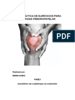 Guia Ejercicios Artrosis Femoropatelar