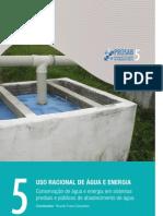 Conservação de água e de energia nas áreas urbanas