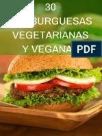 30 Recetas de Hamburguesas Vegetariana