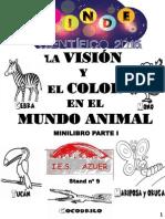 Minilibro El Color y La Visión en Los Animales