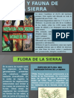 Flora y Fauna de La Sierra Peruana