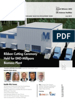 EMD-Millipore Biomass Plant -- High Profile 201507