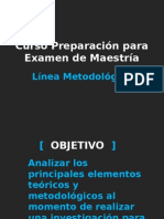 Línea Metodologica
