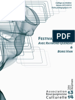 FestivaldesMots Queneau Vian