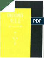 DECODEX for Codex Seraphinianus