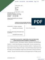 Google Inc. v. Wolfe - Document No. 66