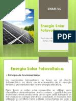 Energía Solar Fotovoltaica Investigacion 15-04-15 Presentacion Final