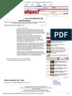 07-09-2015 Convive Pepe Elías Con Estudiantes de Intercambio