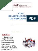 [Pro] [s4] Vias de Administracion de Medicamentos