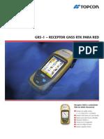 GRS-1 – RECEPTOR GNSS RTK PARA RED