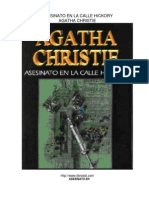 Agatha Christie - Asesinato en la calle Hickory.pdf