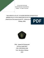 Studi Pencemaran PT. Arthawena - Agung Sri S Damayanti