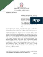 Sentencia Tc 0028-12 c Inconstitucionalidad El Art. 22 de La Ley 1306-Bis