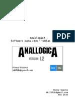 - AnallogicA Software Para Crear Tablas De