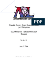 SCORM 12 to 2004 Changes