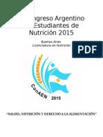 Programa Preliminar  ConAEN 2015