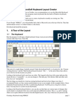 Creating a Keyboard Using MSKLC