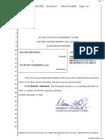 Renteria v. State of California et al - Document No. 7