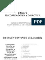 Línea 6 Psicopedagogia y Didáctica