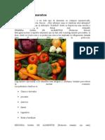 Gamas de Alimentos