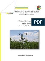 Necesidade Climaticas de Los Cultivos