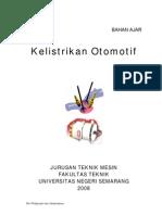 Bahan Ajar - PTM323 Teori Kelistrikan Otomotif