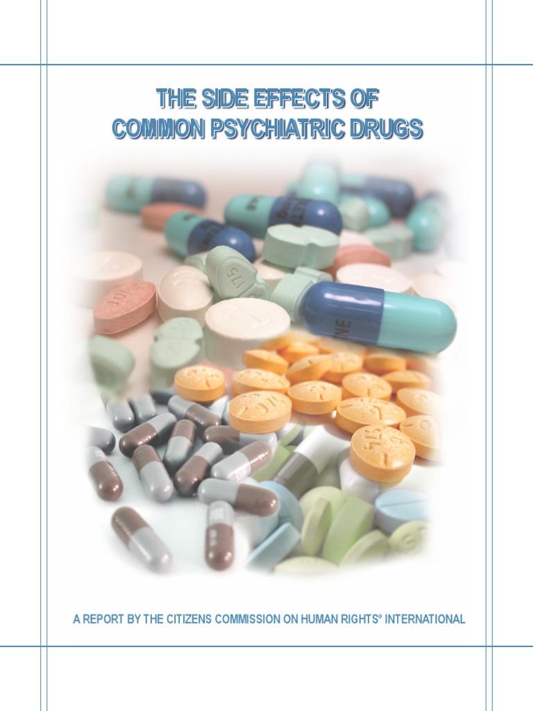 The Side Effects of Common Psychiatric Drugs   Selective Serotonin Reuptake  Inhibitor   Antidepressant