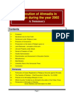 Persecution of Ahmadis in Pakistan during the Year 2002