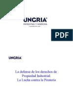La Defensa de Los Derechos de Propiedad Industrial La Lucha Contra La Pirateria