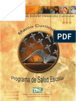Marco Curricular de Salud