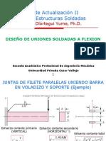 Diseño Uniones Soldadas Flexion
