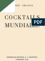 Cocktails Mundiales, De Pedro Chicote. Buenos Aires 1947
