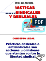 Practicas Antisindicalistas