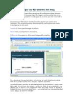Como Descargar Un Documento Del Blog