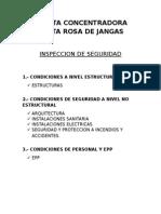 PLANTA CONCENTRADORA SANTA ROSADE JANGAS