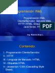 Programación Web HTML5