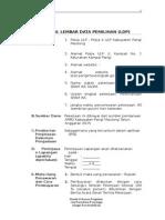 Bab. IV. Lembar Data Pemilihan