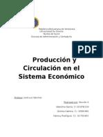 producción del sistema economico