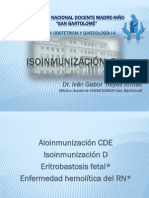 Isoinmunizacion RH