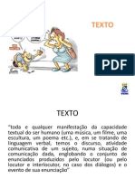 Texto e Fatores de Textualidade
