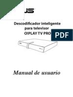 INSTRUCCIONES Asus Oplay TV Pro
