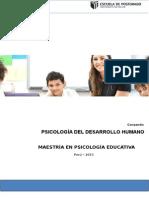 Mpe - i - Psicología Del Desarrollo Humano - Mayo 2015