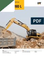 CAT Excavadora Orugas 320D-320DL