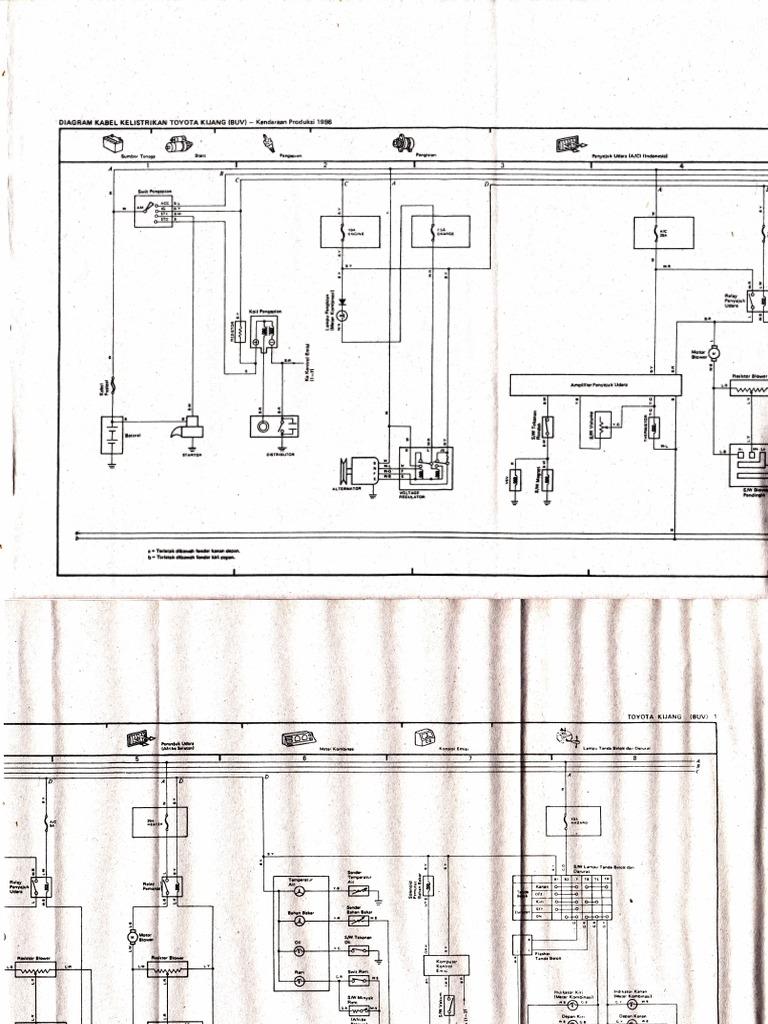 Wiring Diagram Kijang Efi Wiring Library
